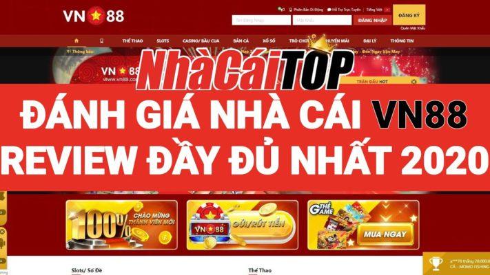 VN88 - Nhà cái lô đề đúng chuẩn Việt Nam   Đánh giá & Review đầy đủ nhất từ Nhà Cái TOP 2020 3