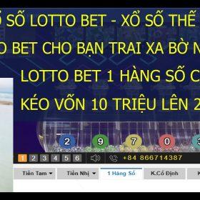 Kubet Xổ Số LottoBet | Kéo Ních Vàng Vốn 10 Triệu Lên 21 Triệu Chơi 1 Hàng Số | Xổ Số Thế Giới Kubet 6