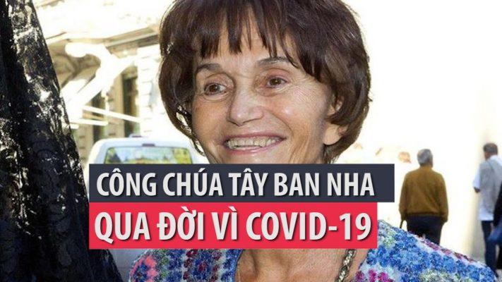 Công chúa Tây Ban Nha qua đời vì COVID-19- PLO 1